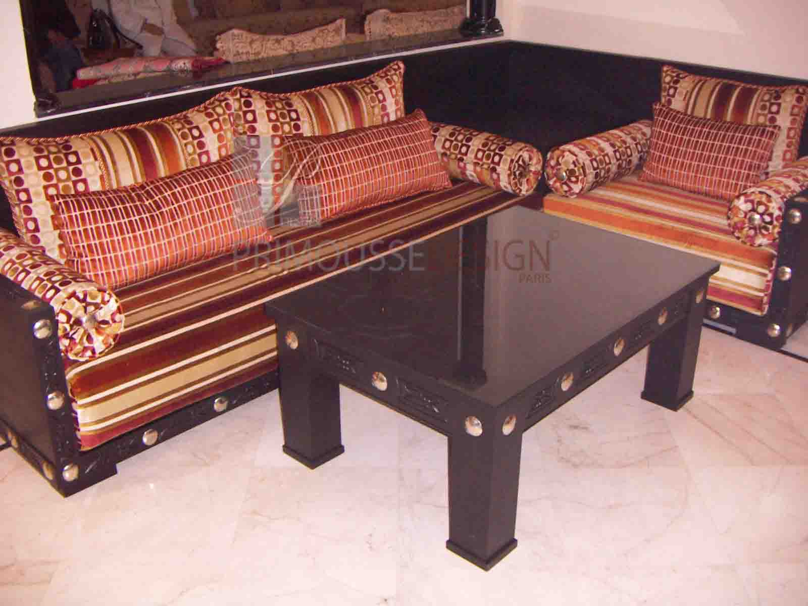 salon marocain design assilio r2. Black Bedroom Furniture Sets. Home Design Ideas