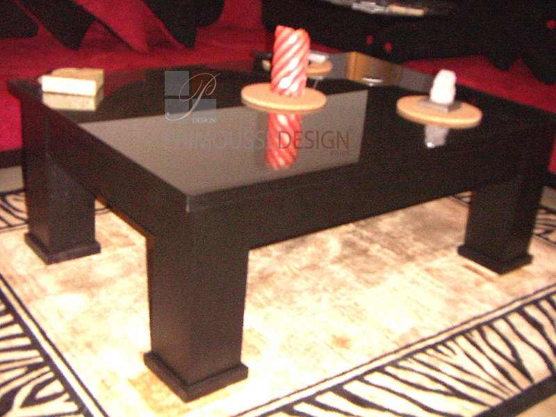 Table basse rosaline for Table de salon marocain